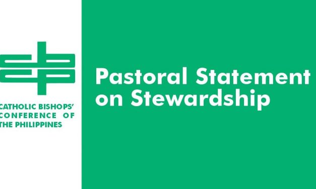 Pastoral Statement on Stewardship