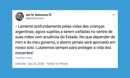 Brazilian President Bolsonaro criticizes Argentina's legalization of abortion