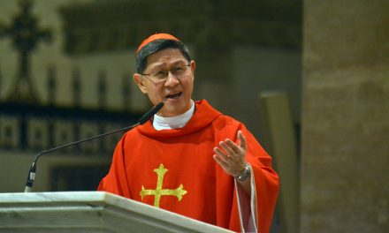 A name isn't just label, says Cardinal Tagle
