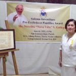Seasoned actress Nova Villa receives papal award