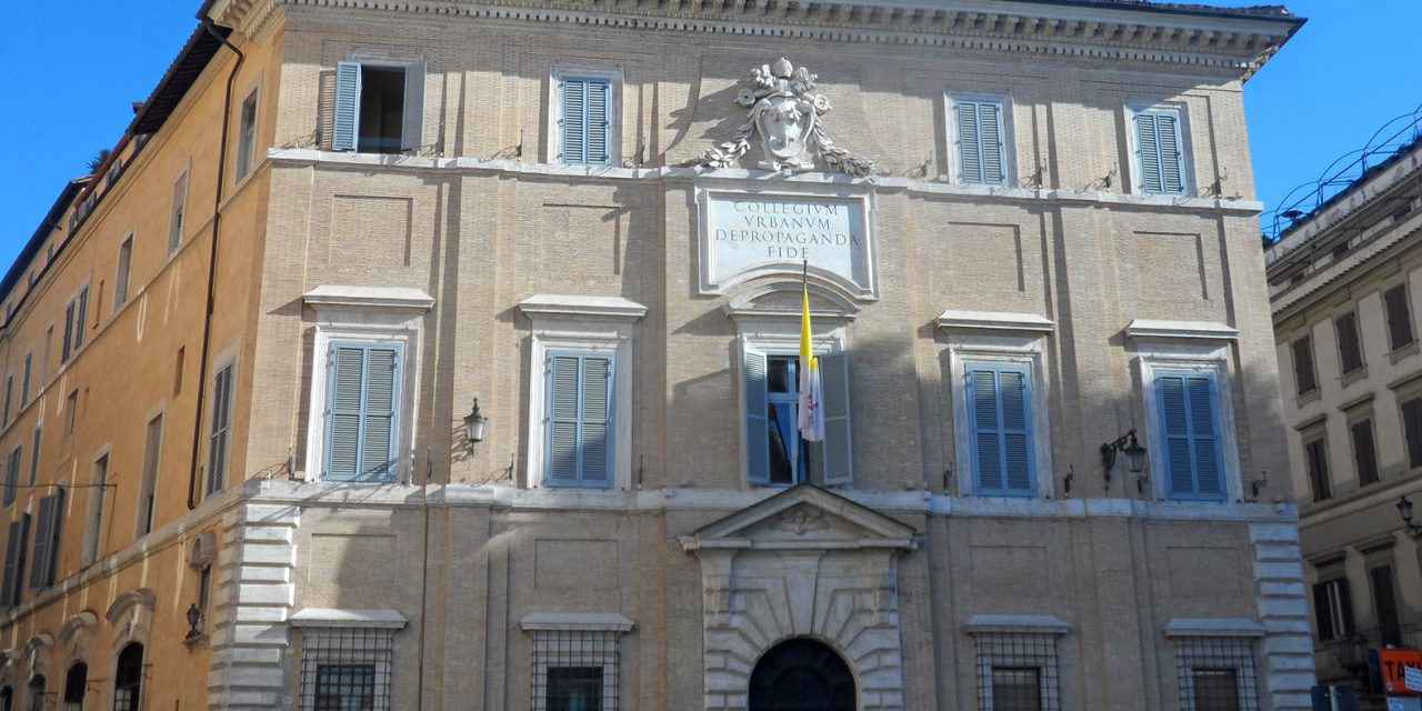 Vatican gradually to defund some mission territories
