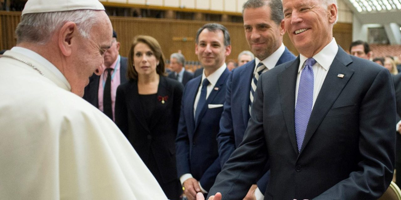 Pope Francis prays Biden will respect 'dignity of every person' in inauguration message