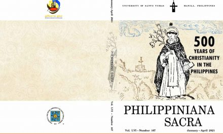 UST Eccle journal releases special issues on 500 Years of Christianity in PH