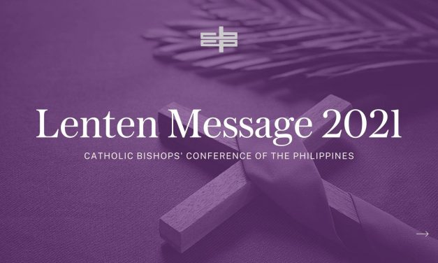 CBCP Lenten Message 2021