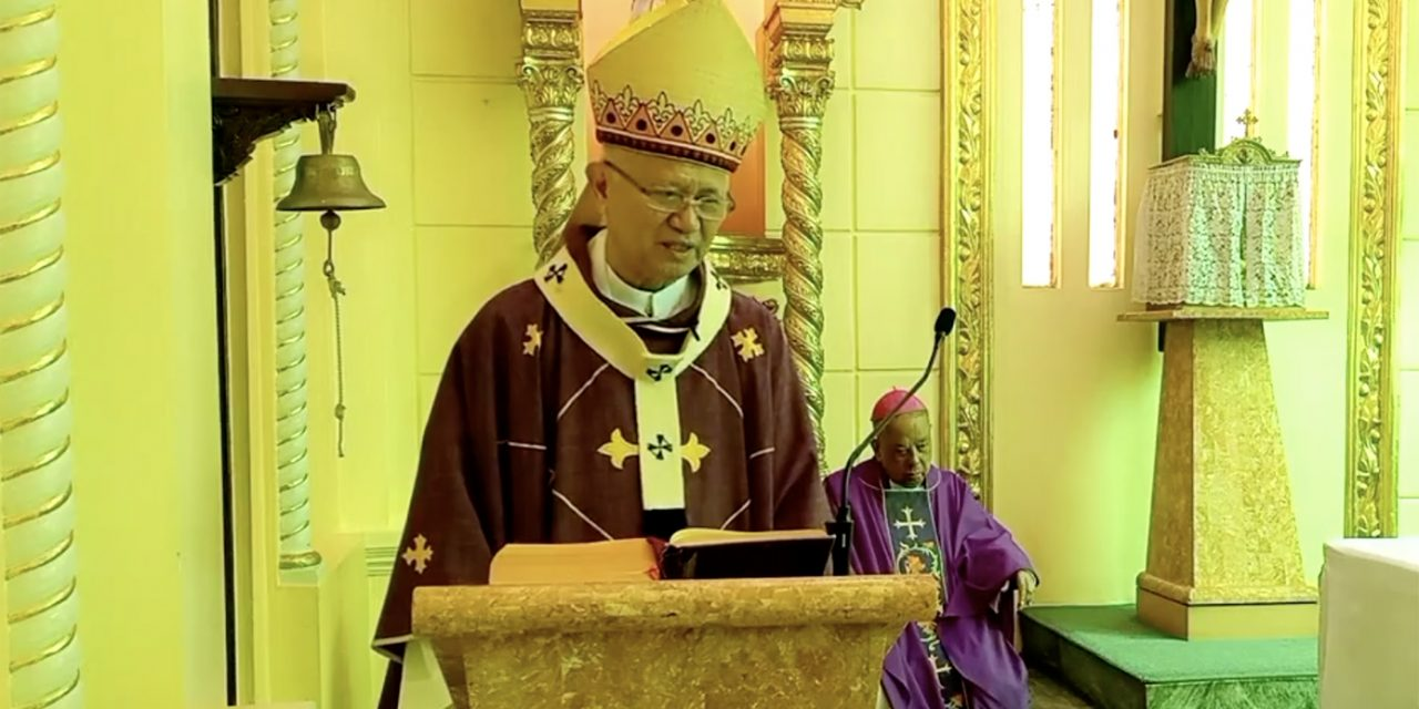 Cebu archbishop tests positive for Covid-19