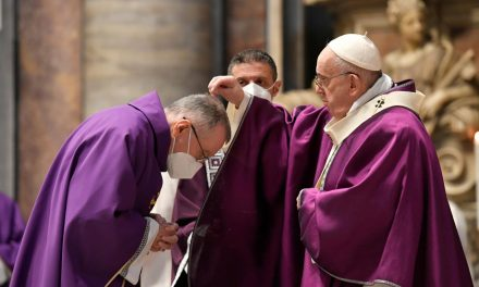 Pope Francis on Ash Wednesday: Lent is a journey from slavery to freedom
