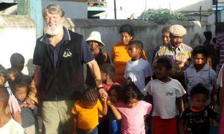 Catholic missionary priest nominated for Nobel Peace Prize