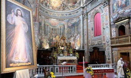 Pope Francis on Divine Mercy anniversary: 'Let us ask Christ for the gift of mercy'