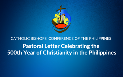 Pastoral letter Celebrating the 500th Year of Christianity in the Philippines