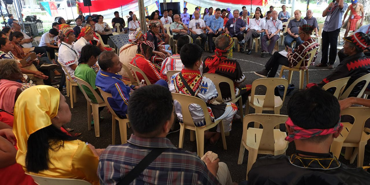 Church official hits red tagging, ban on use of 'lumad' term