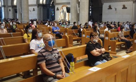 Gov't allows once-a-day church services of 10% capacity for Holy Week