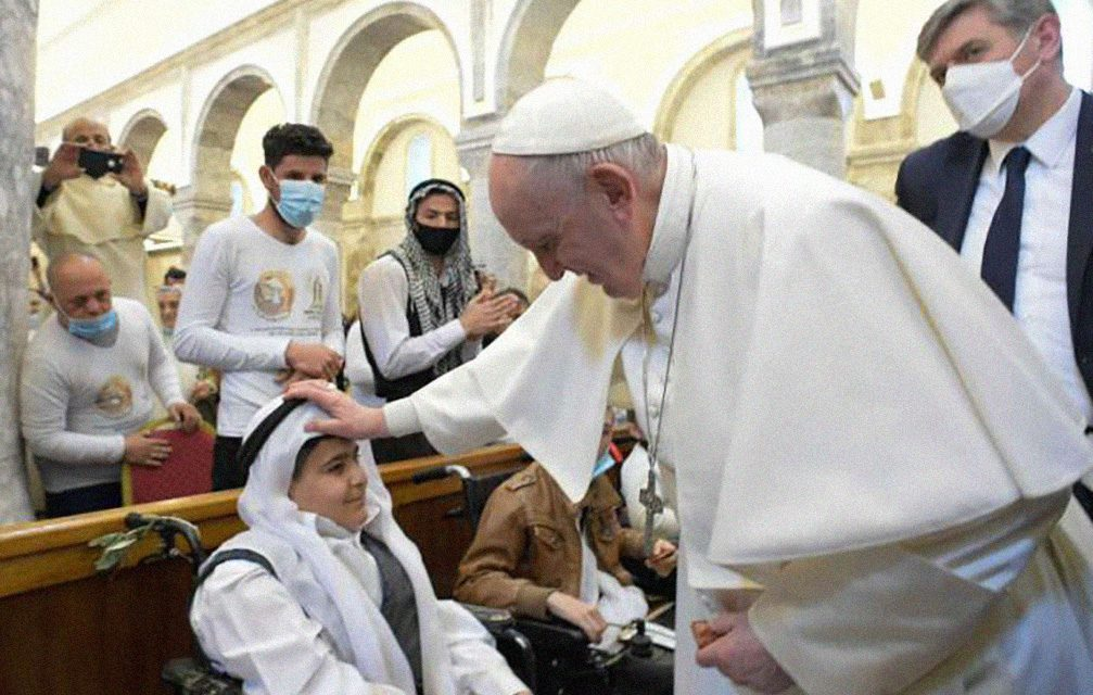 Pope Francis in the Nineveh Plains: 'Terrorism and death never have the last word'