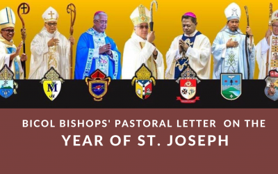 Bicol Bishops' Pastoral Letter on the Year of St. Joseph