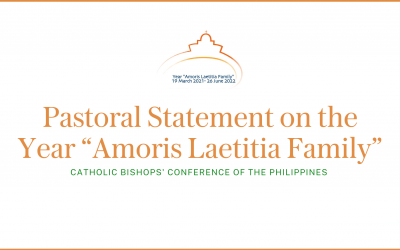 "CBCP Pastoral Statement on the Year ""Amoris Laetitia Family"""