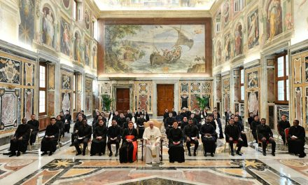 Pope Francis to Pontifical Filipino College students: Welcome God's opportunities