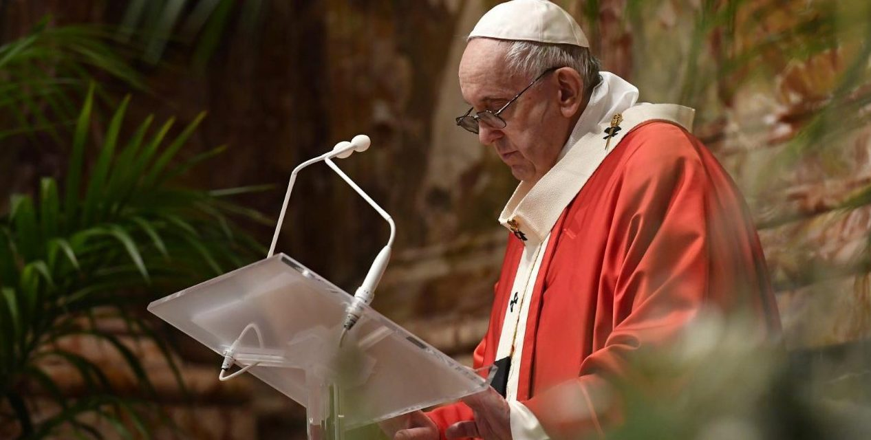 Full text: Pope Francis' Palm Sunday homily