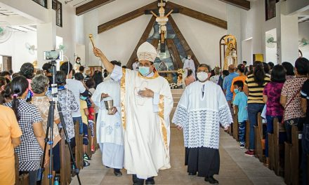 500 Years of Christianity: Bishop honors parents for passing on faith at home