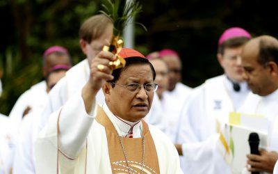 Cardinal Bo: 'We need the light of God's mercy in Myanmar'