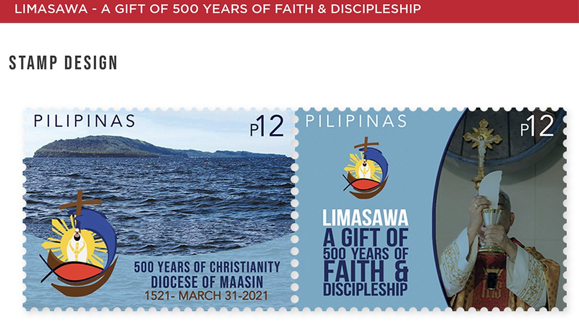 PHLPost releases stamps for First Easter Mass in PH