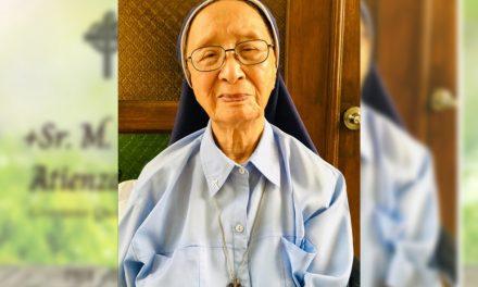 Sr. Fidelis Atienza, 'mastermind' of Good Shepherd's ube jam, dies at 102