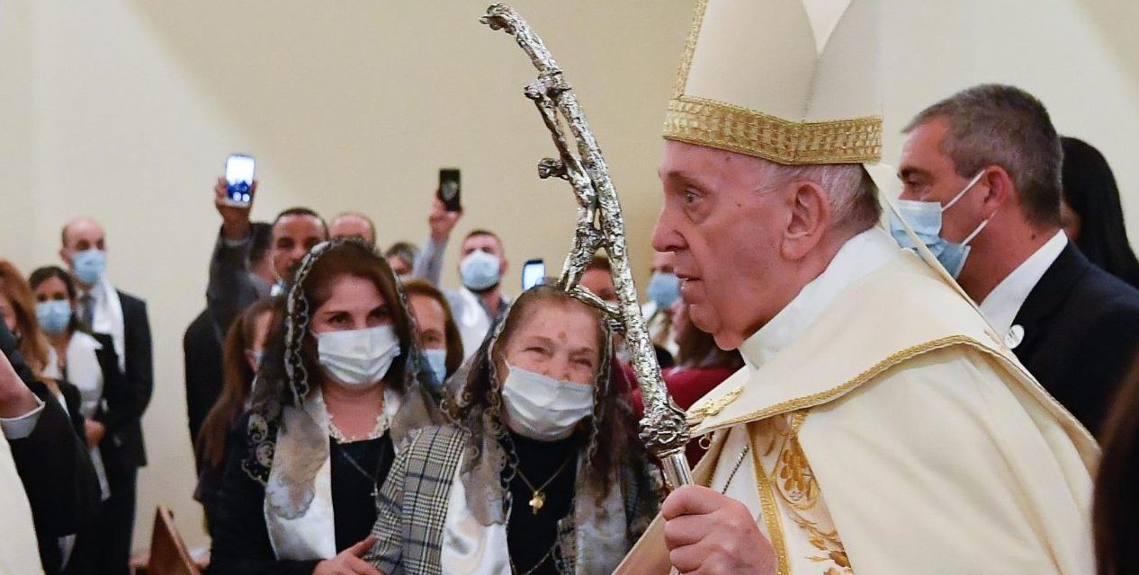 Pope Francis to Chaldean Catholics: 'Love is our strength'