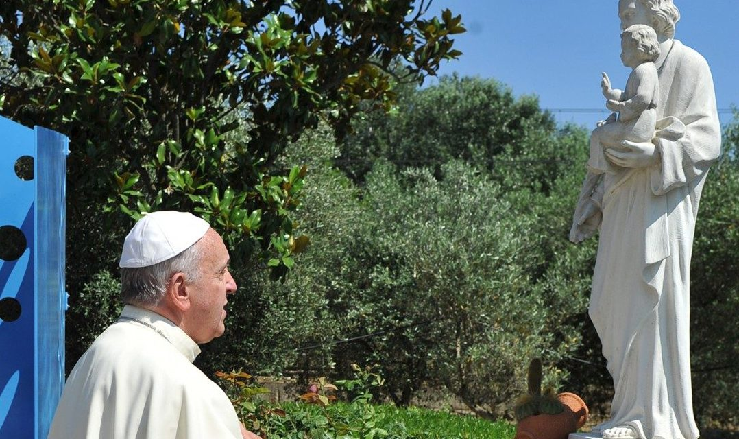 Pope Francis prays St. Joseph will help young adults find their vocations
