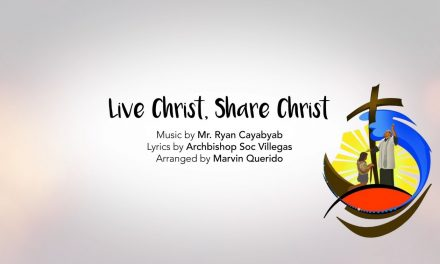 'Live Christ, Share Christ,' the official song of 500 Years of Christianity