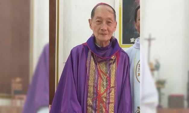 Mati's first bishop dies at 81