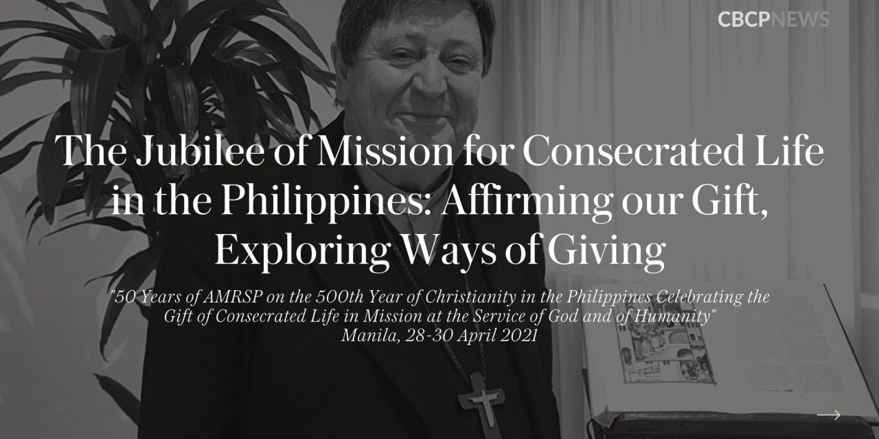FULL TEXT: Cardinal Braz de Aviz's address at opening of AMRSP virtual convention