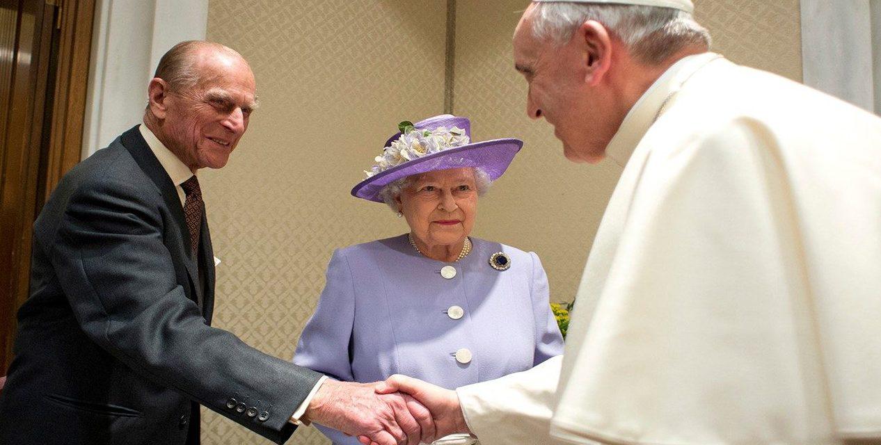 Pope Francis sends condolences to Queen Elizabeth for death of Prince Philip