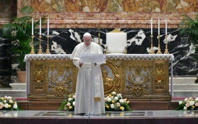 Full text: Pope Francis' Easter Urbi et Orbi message 2021