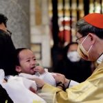Baptizing kids, Cardinal Tagle says faith can't be measured by 'pakimkim'