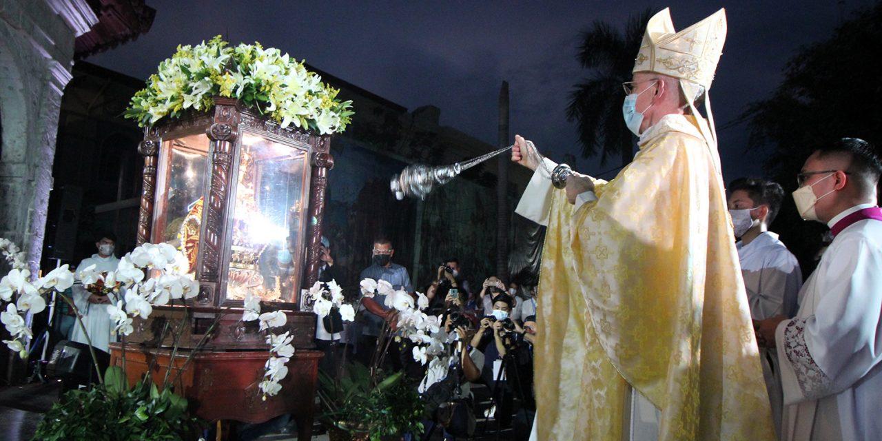 Nuncio to Filipinos: 'Live your baptismal calling'