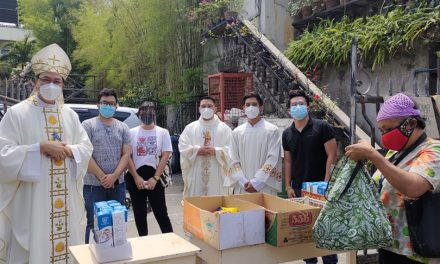 Caloocan Cathedral sets up own 'community pantry'