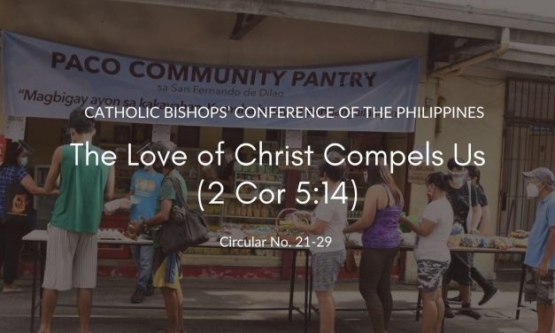 The love of Christ compels us (2 Cor 5:14)