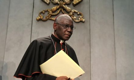 Pope Francis may soon appoint Cardinal Sarah's successor