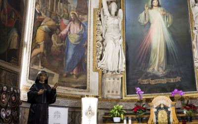 Pope Francis to offer Divine Mercy Sunday Mass in church with St. Faustina's relics