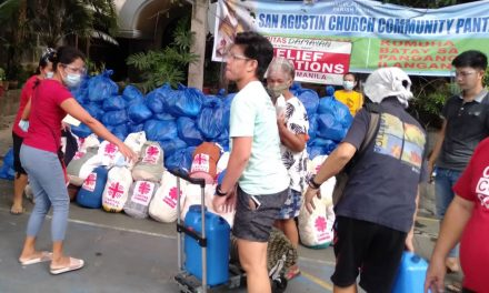 Intramuros church appeals aid for Port Area fire victims