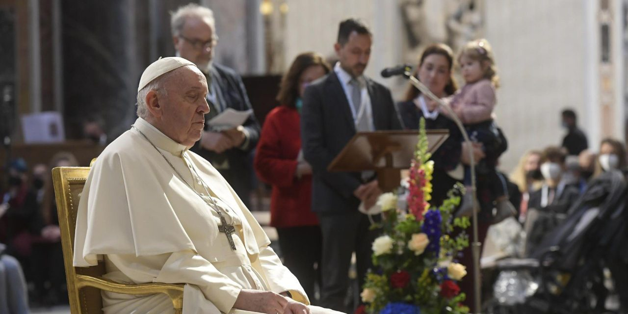 'Hope for the future': Pope Francis asks Mary to intercede for end to pandemic