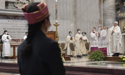 'Do not lose hope': Pope Francis offers Mass for Myanmar's Catholics in St. Peter's Basilica