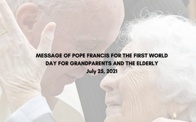 Pope Francis' message for the 1st World Day for Grandparents and the Elderly