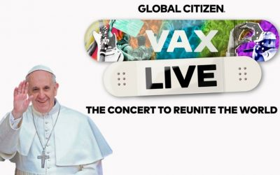 Pope Francis calls for suspension of Covid-19 vaccine patents in 'Vax Live' concert video