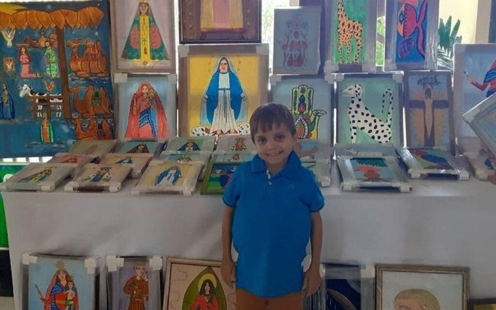 Brazilian boy who painted pictures of saints to help pay for his medical treatment dies