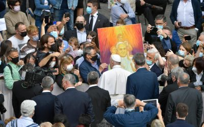Pope Francis: Never forget that Jesus is praying for you before the Father
