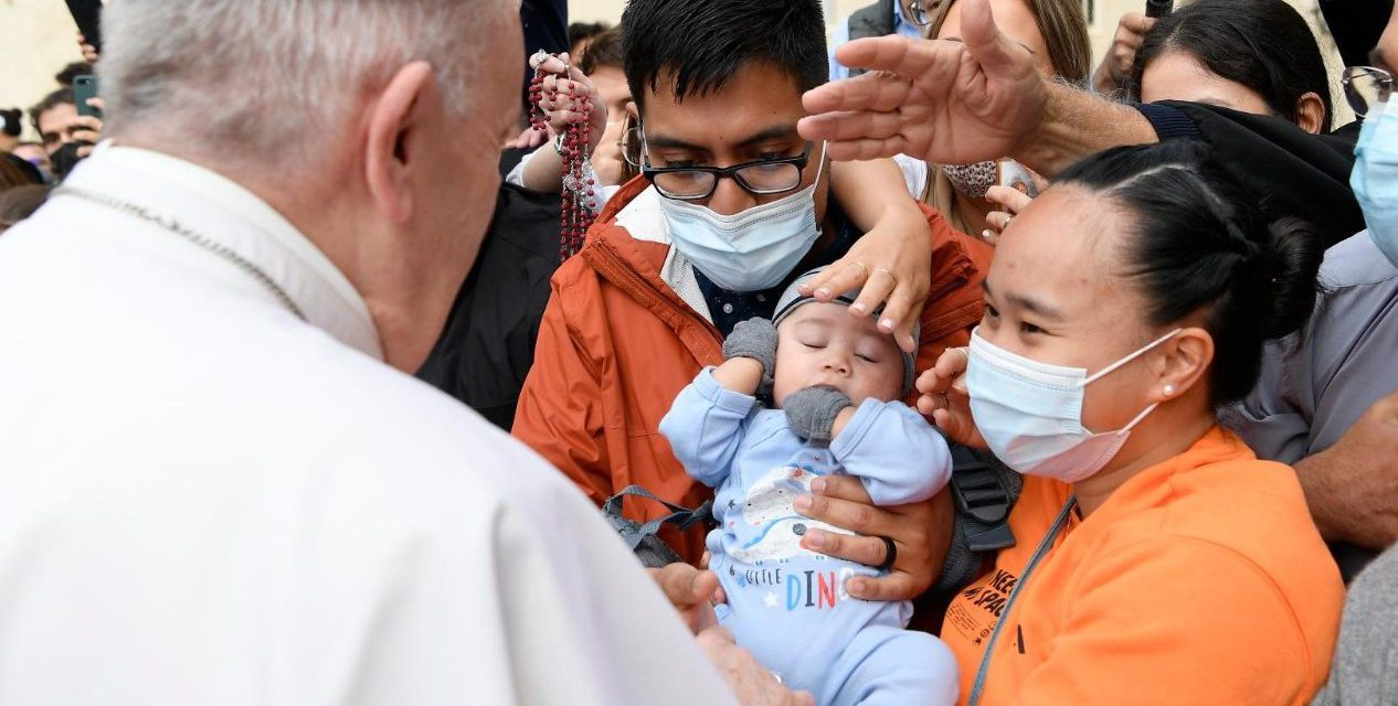 Pope Francis: Priests, bishops, and married couples 'co-responsible' for the family