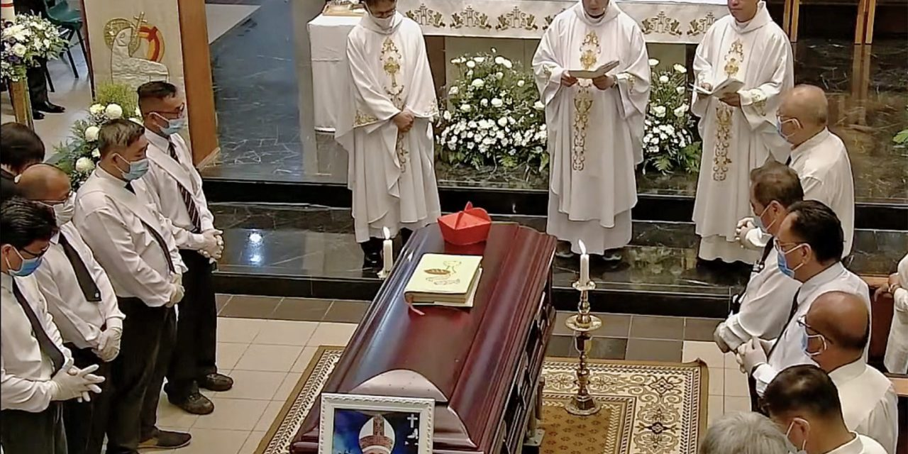Cardinal Sim laid to rest in Brunei