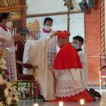 Cardinal Advincula receives 'red hat' in Capiz