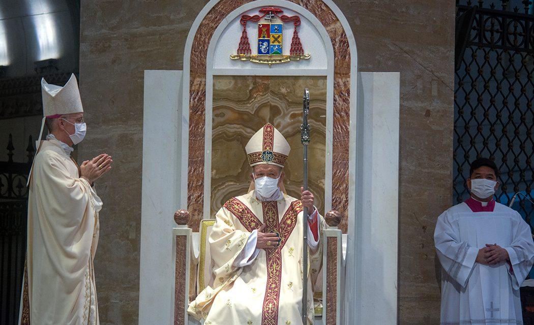 Cardinal Advincula installed as Manila archbishop