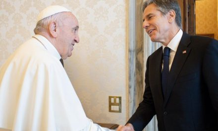 Pope Francis meets US Secretary of State Blinken at Vatican