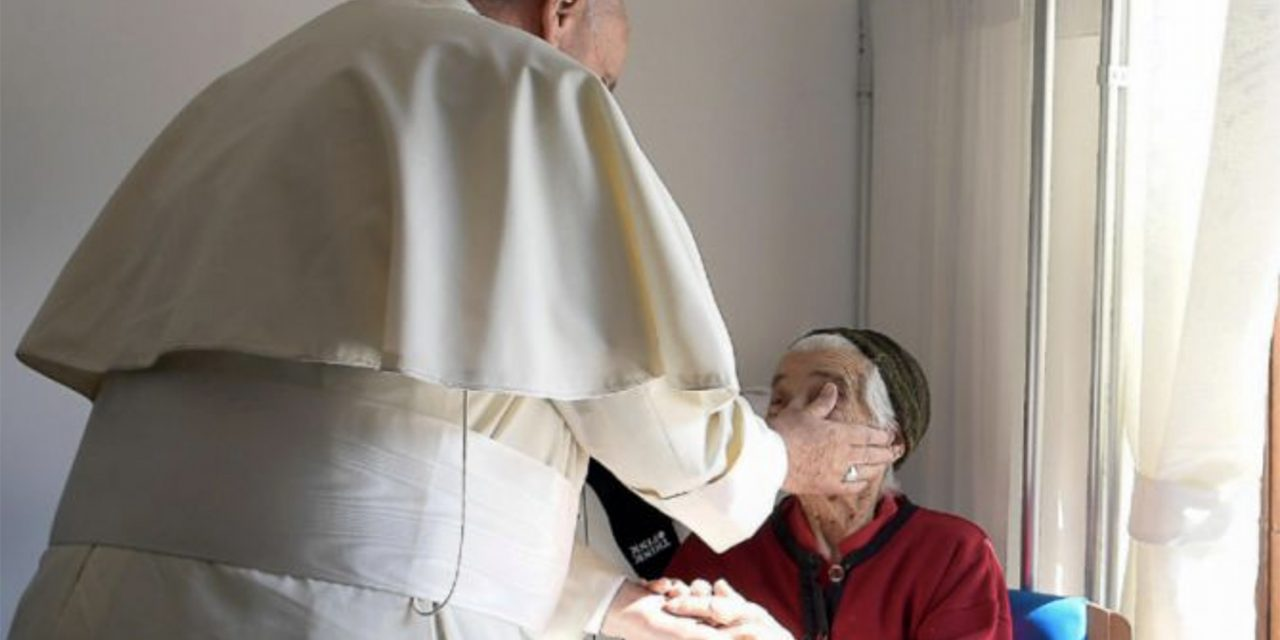 Pope Francis to elderly: The Church needs your prayers like 'a deep breath'
